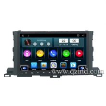 10.1 inch Android 6.0 player for highlander 2015